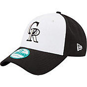 New Era Youth Colorado Rockies 9Forty Black/White League Adjustable Hat