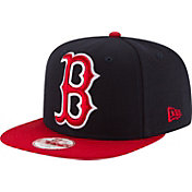 New Era Youth Boston Red Sox 9Fifty Grand Logo Adjustable Hat