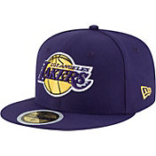 New Era Youth Los Angeles Lakers 59Fifty Purple Fitted Hat