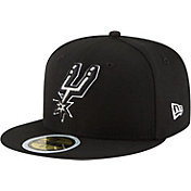 New Era Youth San Antonio Spurs 59Fifty Black Fitted Hat