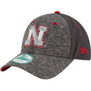 New Era Youth Nebraska Cornhuskers Grey The League Shadow 9Forty Adjustable Hat