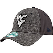 New Era Youth West Virginia Mountaineers Grey The League Shadow 9Forty Adjustable Hat
