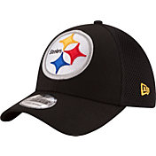 New Era Youth Pittsburgh Steelers Mega Team 39Thirty Flex Hat