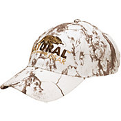Natural Gear Men's Logo Snow Camo Hat