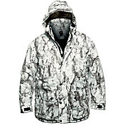 Natural Gear Men's Snow Parka Full Zip Hunting Jacket