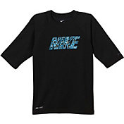 Nike Boys' Convert Hydro Short Sleeve Shirt