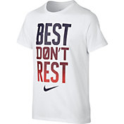 Nike Boys' Dry Best Don't Rest Graphic T-Shirt