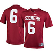 Nike Boys' Oklahoma Sooners #6 Crimson Game Football Jersey