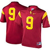 Nike Boys' USC Trojans #9 Cardinal Game Football Jersey