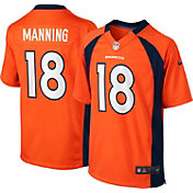 Nike Boys' Home Game Jersey Denver Broncos Peyton Manning #18