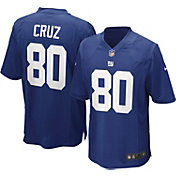 Nike Boys' Home Game Jersey New York Giants Victor Cruz #80