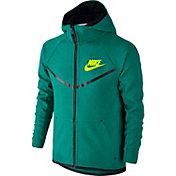 Nike Boys' Sportswear Tech Fleece Windrunner Full Zip Hoodie