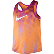Nike Little Girls' Halftone Swoosh Dri-FIT Tank Top
