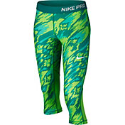 Nike Girls' Pro Cool Printed Capris