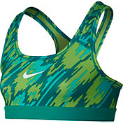 Nike Girls' Pro Overdrive Printed Sports Bra