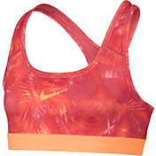 Nike Girls' Pro Printed Sports Bra