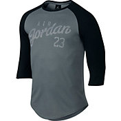 Jordan Men's Raglan 3/4 Length Graphic T-Shirt