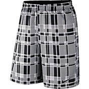 Nike Men's Court Dry 9'' Plaid Tennis Shorts