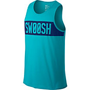 Nike Men's Dri-FIT Cotton Swoosh Block Graphic Sleeveless Shirt