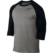 Nike Men's Legend Raglan Three Quarter Length Sleeve Shirt