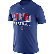 Nike Men's Chicago Cubs Practice Royal T-Shirt