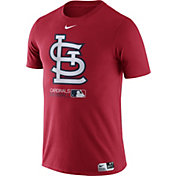 Nike Men's St. Louis Cardinals Dri-FIT Authentic Collection Red T-Shirt