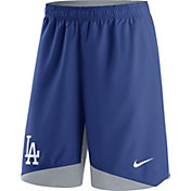 Nike Men's Los Angeles Dodgers Dri-FIT Authentic Collection Royal Performance Shorts