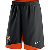 Nike Men's San Francisco Giants Dri-FIT Authentic Collection Black Performance Shorts