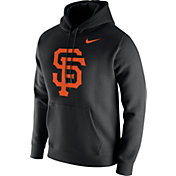 Nike Men's San Francisco Giants Club Black Pullover Hoodie
