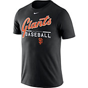 Nike Men's San Francisco Giants Practice Black T-Shirt