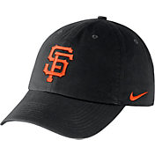 Nike Men's San Francisco Giants Dri-FIT Black Heritage 86 Stadium Adjustable Hat