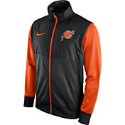 Nike Men's San Francisco Giants Black/Orange Full-Zip Track Jacket