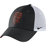 Nike Men's San Francisco Giants Dri-FIT Black/White Heritage 86 Adjustable Hat