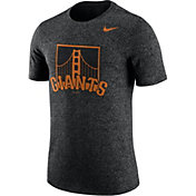 Nike Men's San Francisco Giants Marled Black T-Shirt