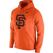 Nike Men's San Francisco Giants Club Orange Pullover Hoodie