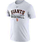 Nike Men's San Francisco Giants Practice White T-Shirt