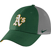 Nike Men's Oakland Athletics Dri-FIT Green/White Heritage 86 Adjustable Hat