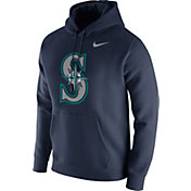 Nike Men's Seattle Mariners Club Navy Pullover Hoodie