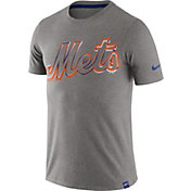 Nike Men's New York Mets Marled Grey T-Shirt