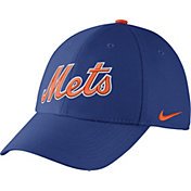 Nike Men's New York Mets Dri-FIT Royal Legacy 91 Swoosh Flex Hat