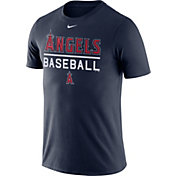 Nike Men's Los Angeles Angels Practice Navy T-Shirt