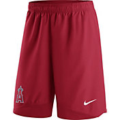 Nike Men's Los Angeles Angels Dri-FIT Authentic Collection Red Performance Shorts