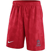Nike Men's Los Angeles Angels Dri-FIT Red Knit Shorts