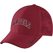 Nike Men's Los Angeles Angels Dri-FIT Red Vapor Classic Swoosh Flex Fitted Hat