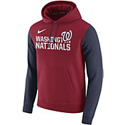 Nike Men's Washington Nationals Red Pullover Hoodie