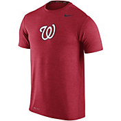 Nike Men's Washington Nationals Dri-FIT Touch Red T-Shirt