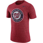 Nike Men's Washington Nationals Marled Red T-Shirt