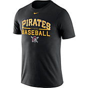 Nike Men's Pittsburgh Pirates Practice Black T-Shirt