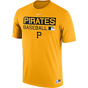Nike Men's Pittsburgh Pirates Dri-FIT Authentic Collection Gold Legend T-Shirt