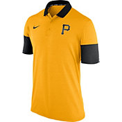 Nike Men's Pittsburgh Pirates Dri-FIT Gold Polo